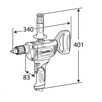 Дрель-миксер Makita DS 4012 - slide 3